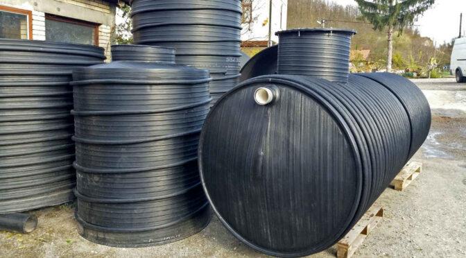 Horizontalni plasticni rezervoari za vodu